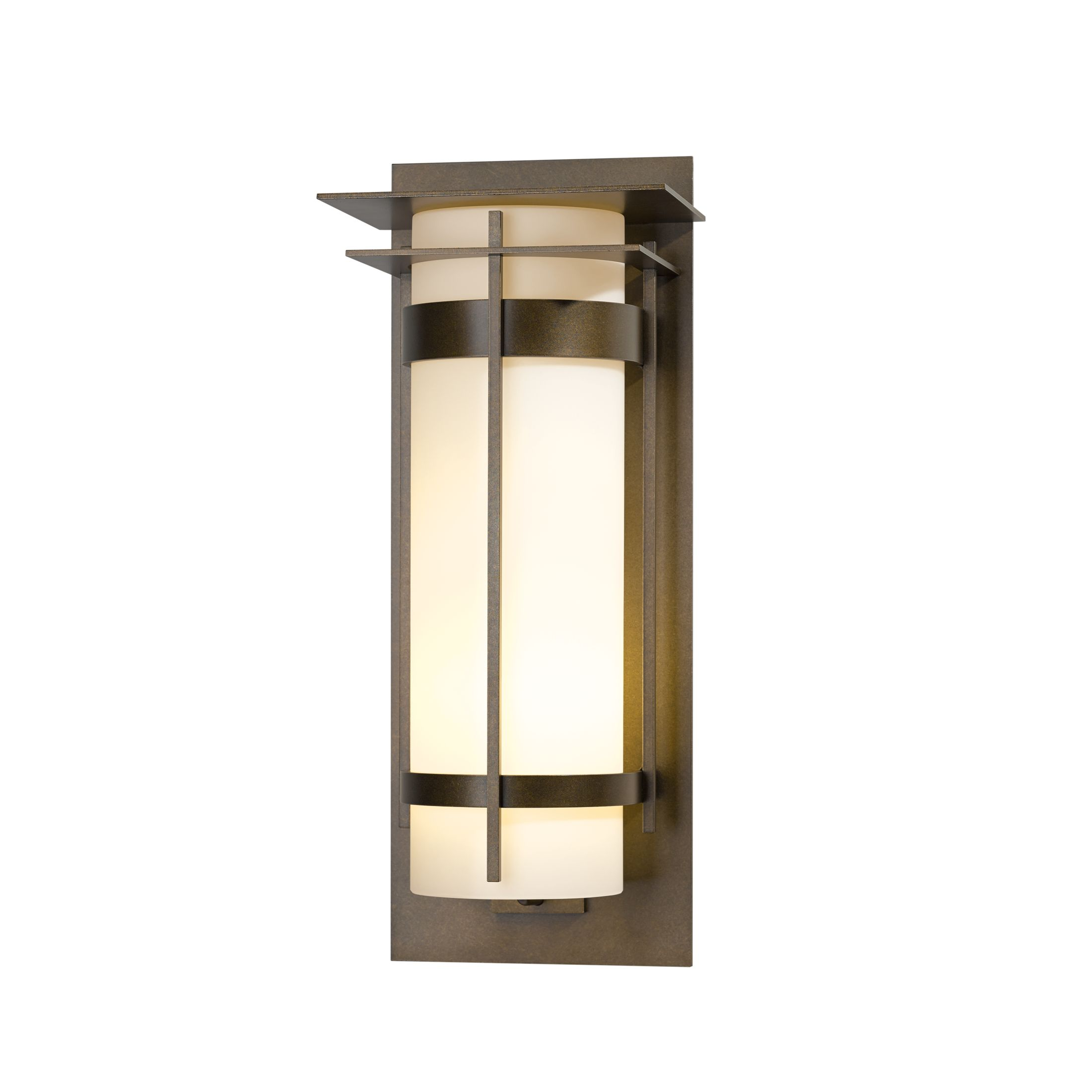Product Detail: Banded with Top Plate Extra Large Interior Sconce