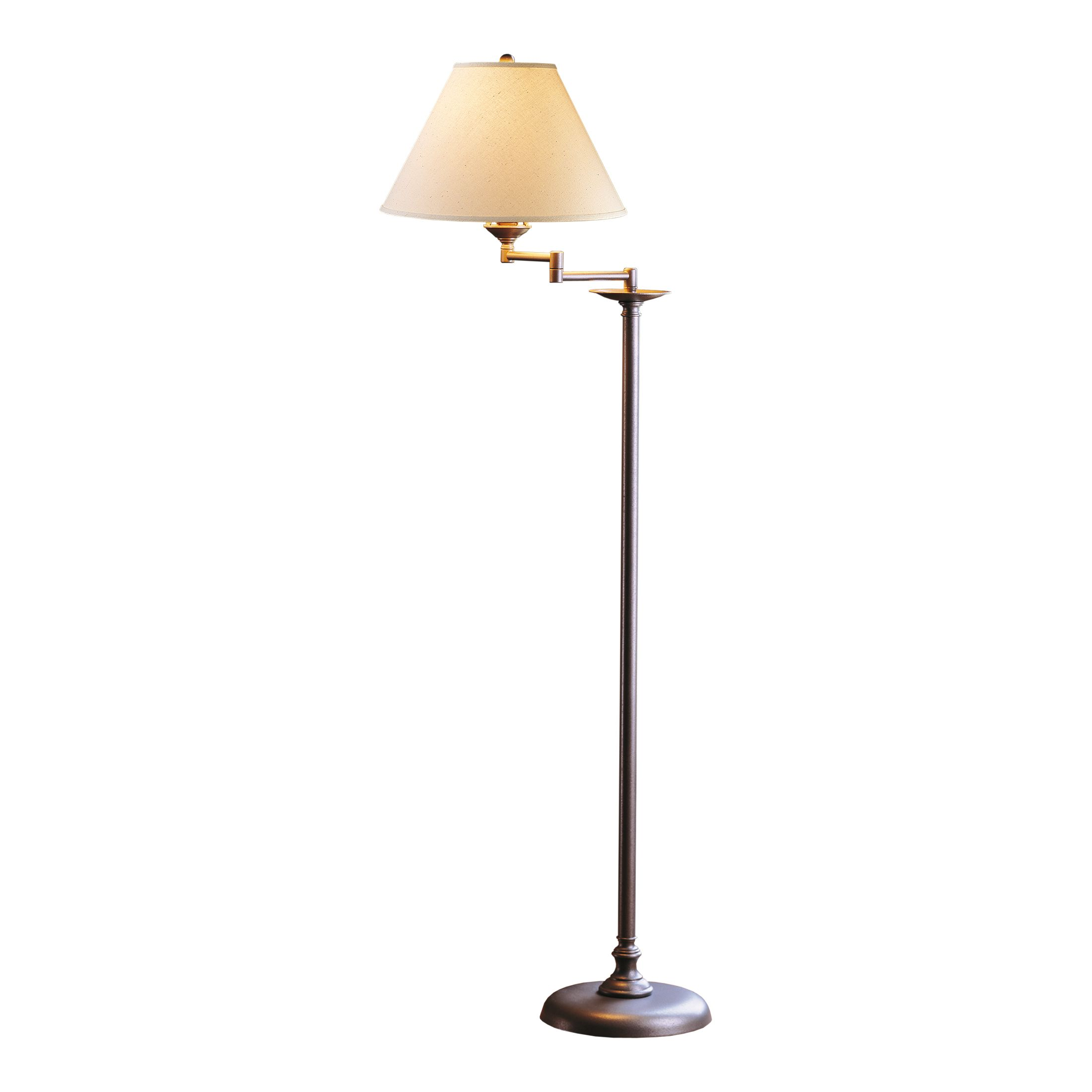 Thumbnail for Simple Lines Swing Arm Floor Lamp