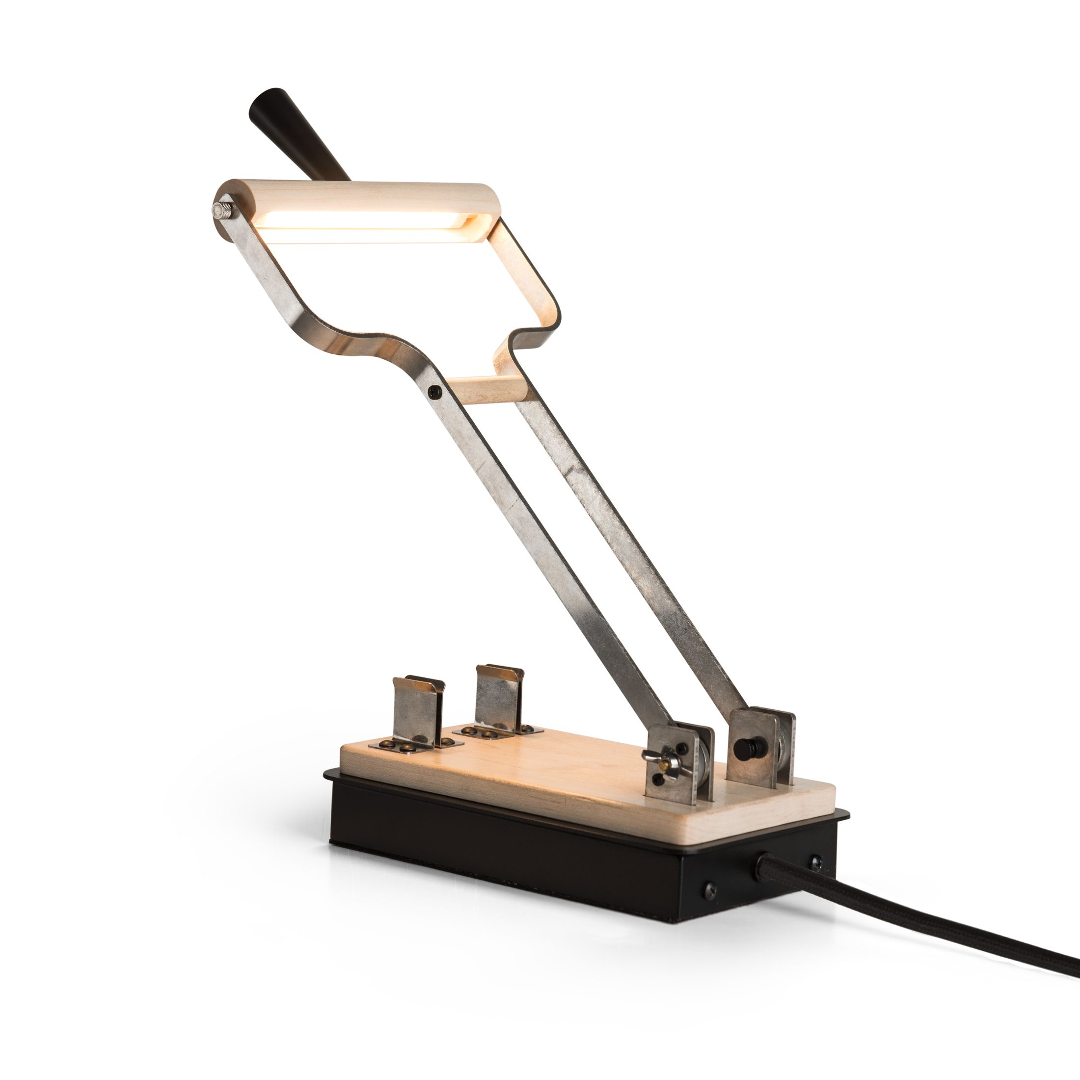 Product Detail: Old Sparky Plug-In LED Lamp
