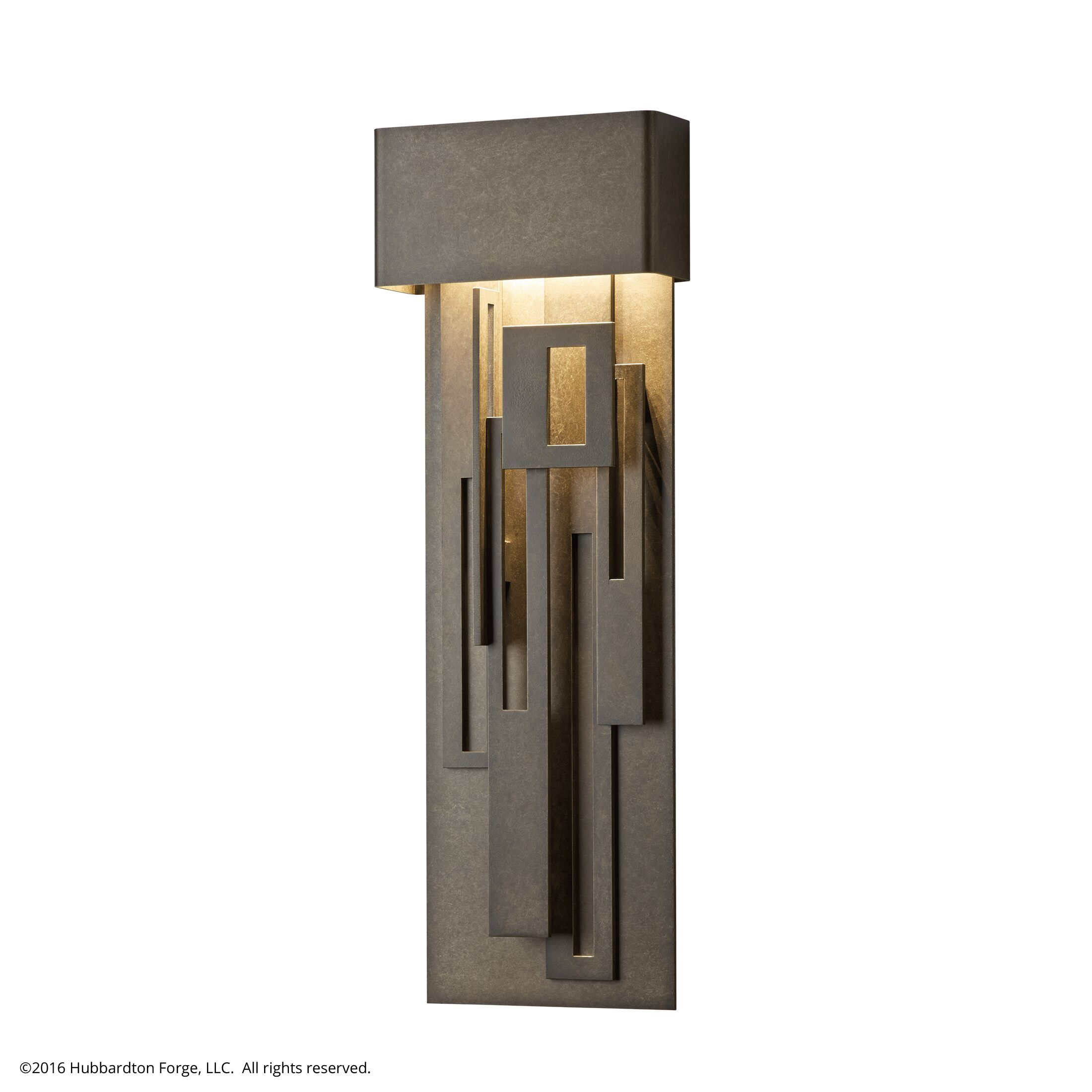Product Detail: Collage Large Dark Sky Friendly LED Outdoor Sconce