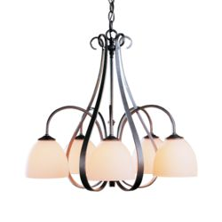 OUT-101445 Sweeping Taper 5 Arm Chandelier
