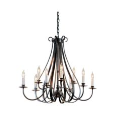 OUT-101469 Sweeping Taper 9 Arm Chandelier