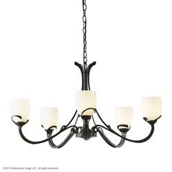 105010 Aubrey 5 Arm Chandelier