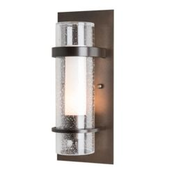OUT-205814 Banded Seeded Glass Indoor Sconce