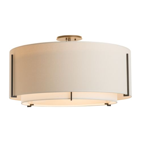 Product Detail: Exos Large Double Shade Semi-Flush