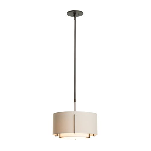 Product Detail: Exos Small Double Shade Pendant