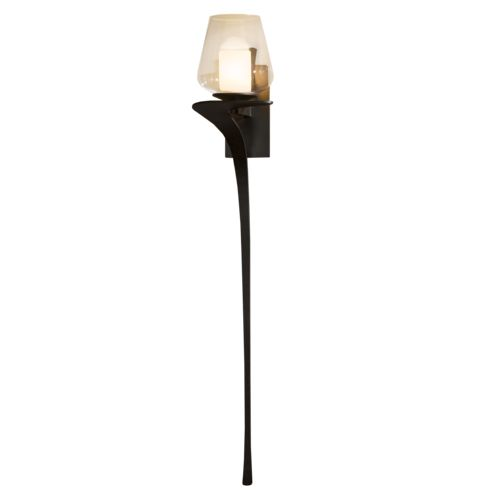 Product Detail: Antasia Large Single Glass 1 Light Sconce