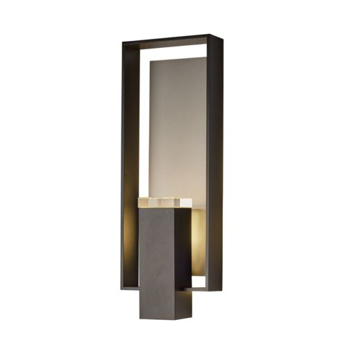 Product Detail: Shadow Box Large Outdoor Sconce