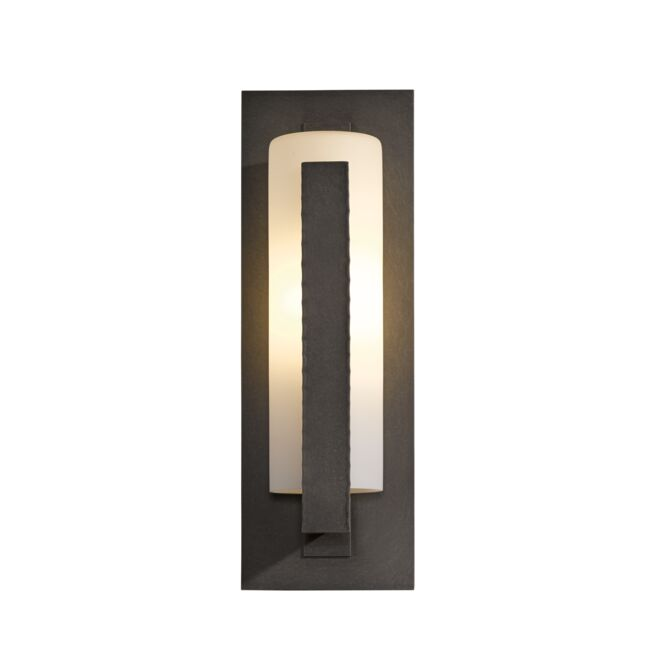 Product Detail: Forged Vertical Bars Outdoor Sconce