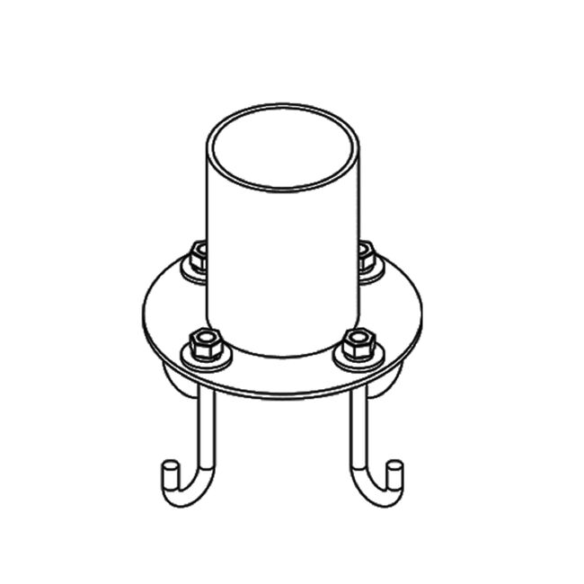 Product Detail: Pier Mount Outdoor