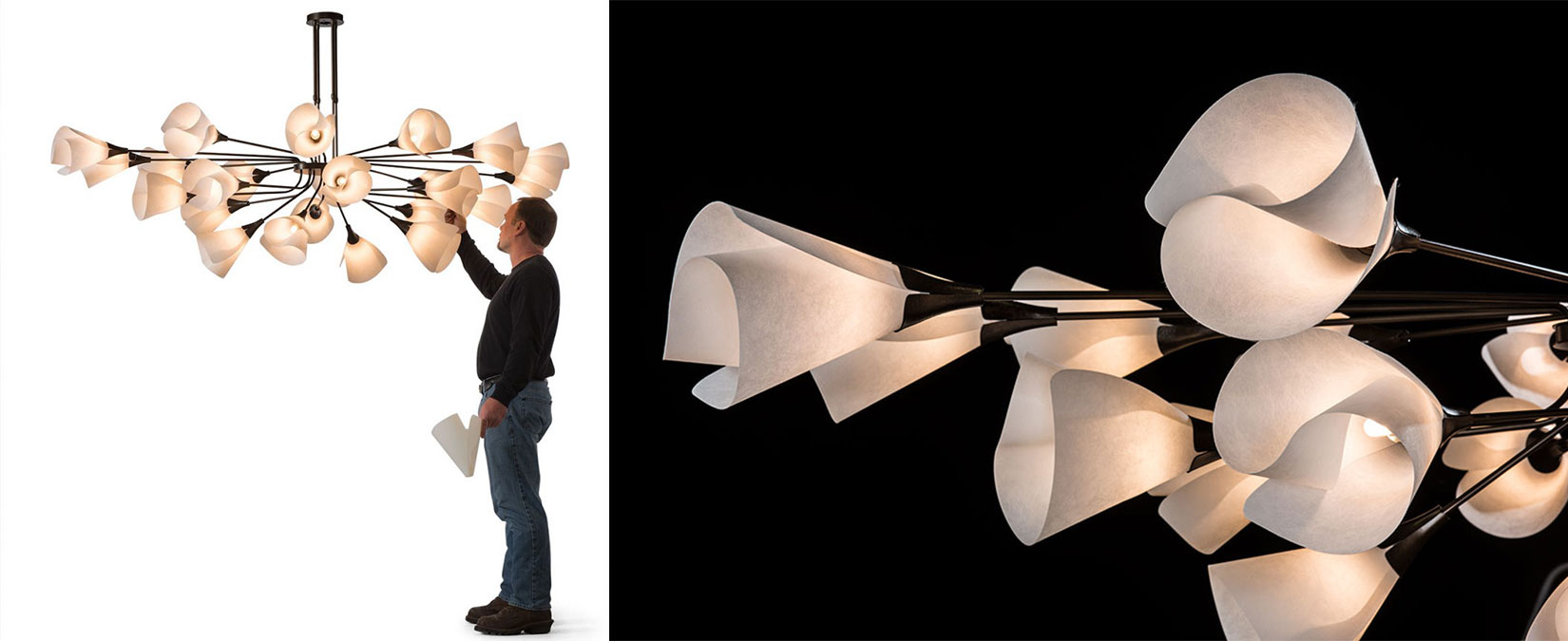 Large Scale Mobius Light
